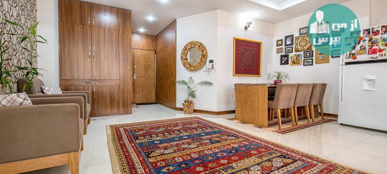 استفاده از قالیچه در چیدمان خانه