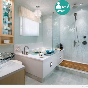کاربرد شلف در حمام و سرویس بهداشتی!