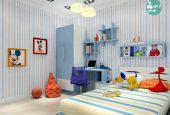 طراحی اتاق کودک با استفاده از طرح های پسرانه