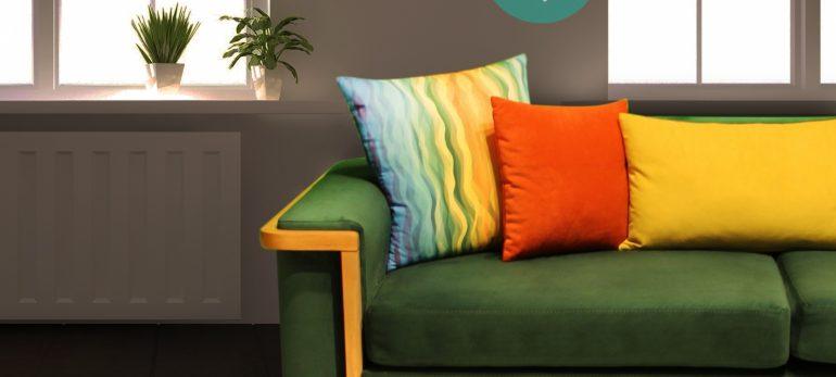 استفاده از رنگ سبز سدری در طراحی داخلی منزل