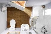 چگونه حمام بزرگ و زیبا در خانه داشته باشیم؟