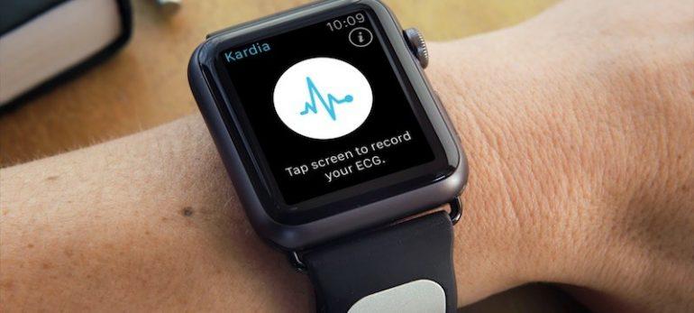 ساعت مچی اپل با کنترل بند مچ دست جدید Kardia روانه بازار می شود.