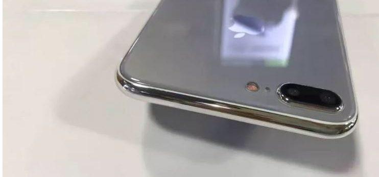 مدل ساختگی آیفون 7S به پشت شیشه ای و شارژ بی سیم اشاره می کند!