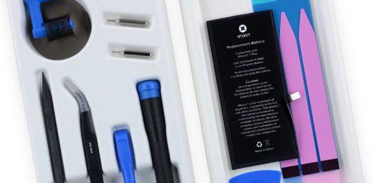نحوه تعویض باتری و صفحه نمایش شکسته iPhone 7 با کمک کیت iFixit