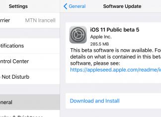پنجمین نسخه بتای عمومی iOS 11 منتشر شد