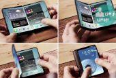 گوشی هوشمند انعطاف پذیر سامسونگ به زودی رونمایی خواهد شد
