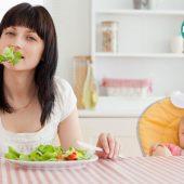تغذیه ی مادران شیرده؛ خوب بخورید تا احساس خوبی داشته باشید