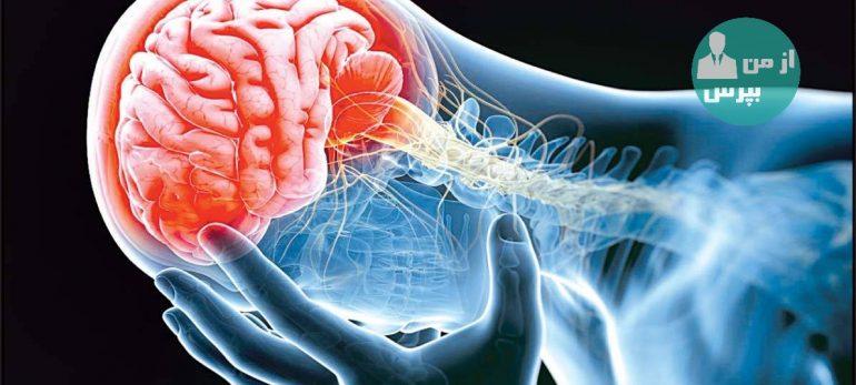 وجود برخی از علائم که نشان دهنده سکته مغزی هستند