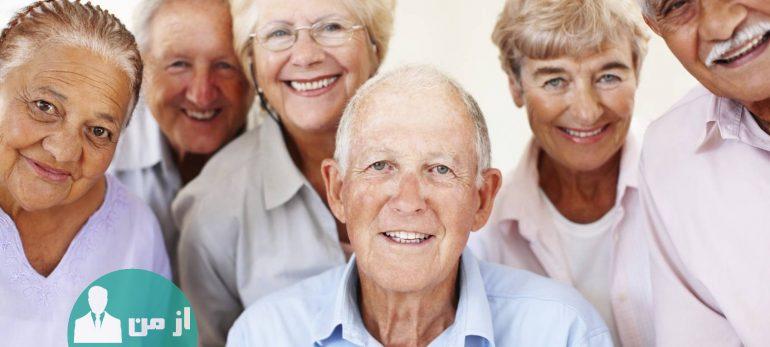 خطر های زمستانی برای سالمندان