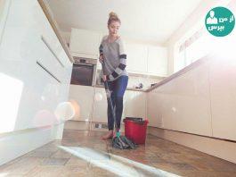 تمیز کردن منزل بدون استفاده از مواد شوینده ی شیمیایی