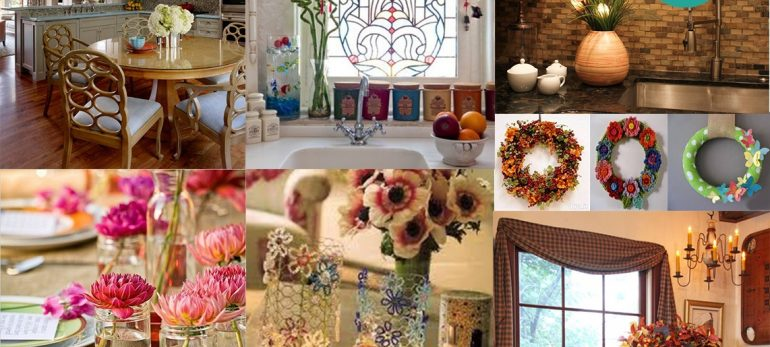 ایده هایی زیبا برای خلاقیت در منزل