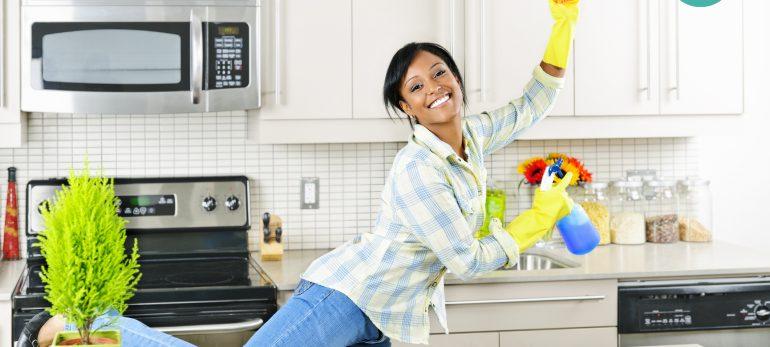 نکاتی برای سریع تمیز کردن خانه