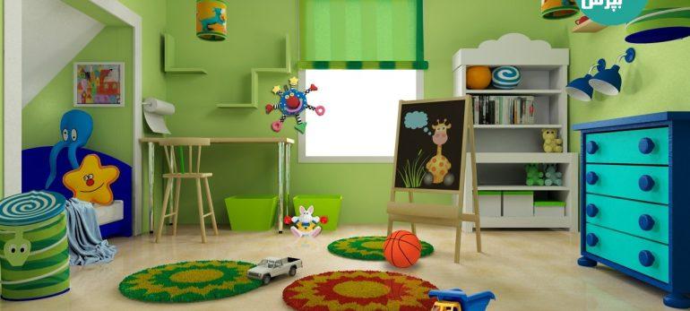 راهکارهایی برای تمیز کردن اتاق بچه ها