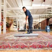 روش هایی برای تمیز کردن فرش ها