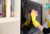 چگونه تلویزیون را تمیز کنید؟