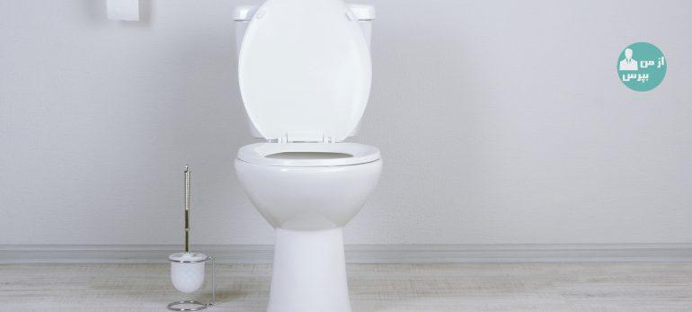 روش هایی برای تمیز کردن توالت فرنگی