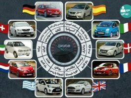خودروهای پرفروش در کشورهای مختلف