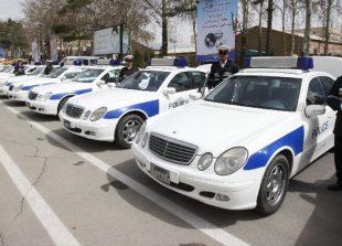 ماشین پلیس های ایران