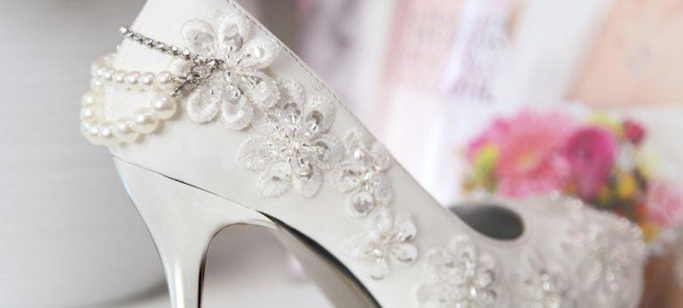 با کفش عروس مد2018 همچون ستاره در عروسی خود بدرخشید