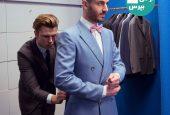 پیراهن مناسب کت و شلوار آبی کدام رنگ می باشد؟