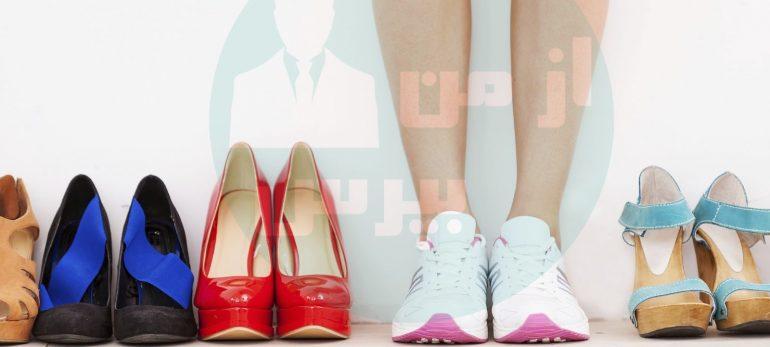 استفاده از کفش های تخت جایگزینی مناسب برای کفش های پاشنه بلند