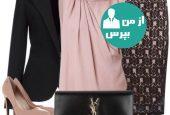 هماهنگی بین کفش رنگی با لباس برای خانم ها
