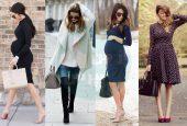 سلبریتی ها در دوران بارداری خود از چه لباس هایی استفاده می کردند؟