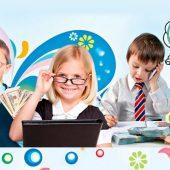 کودکان چگونه کارهای خود را انجام می دهند؟