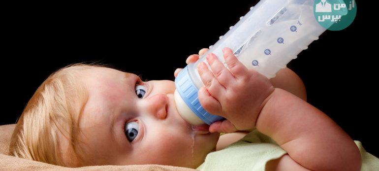 چگونه می توان ترک کردن شیشه شیر را به کودک آموزش داد؟