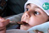 پرستاری از طفلی که دچار سرماخوردگی شده است