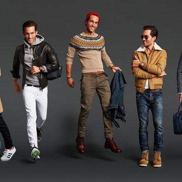 رنگ های پائیزی جذاب برای لباس آقایان